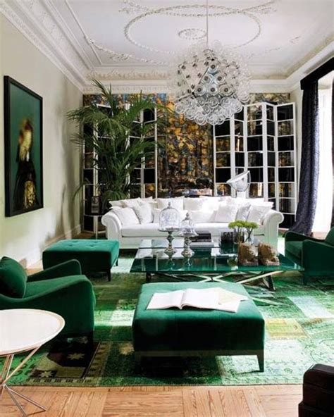 Green Decorating Idea by What Influences Color From The Runway To The Living Room