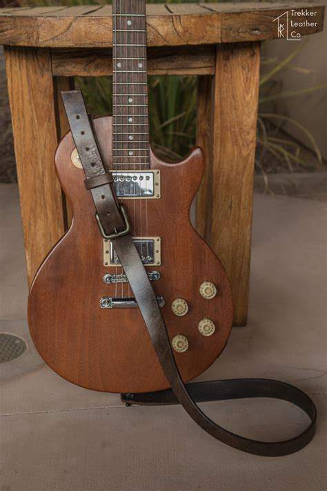 Handmade Leather Guitar - leather electric guitar handmade in the usa