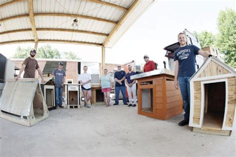 custom built dog house msu students build donate dog houses to grassroots animal rescue the dispatch