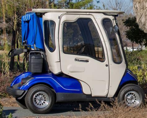 yamaha drive cab curtis industries golf cart enclosure