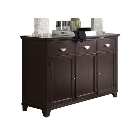 Montreal Home Decor Stores by A America Montreal Sideboard In Espresso Mones9010
