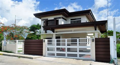 Townhouse Designs And Floor Plans asian tropical design home philippines