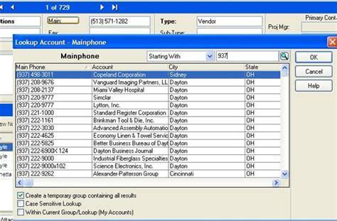 Phone Lookup Cincinnati Simplesoft Solutions Inc Crm Blogsaleslogix Lan Lookups