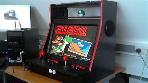 table top machine tabletop arcade machine wip