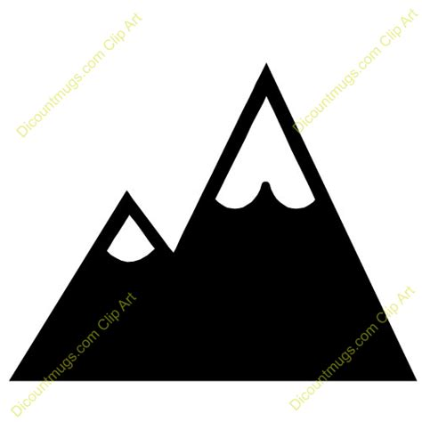 mountain clipart mountain clipart black and white clipart panda free