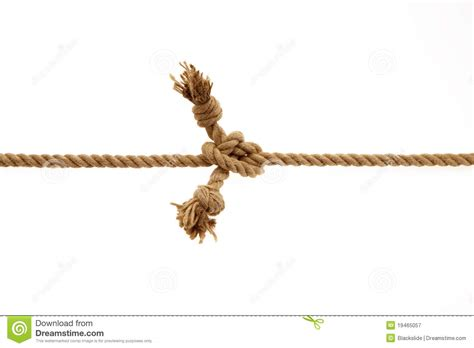 String Knotting - knotted rope royalty free stock photography image 19465057