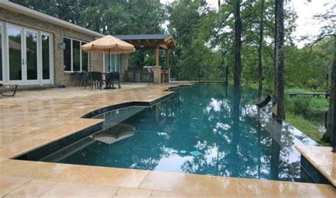 negative edge swimming pools offering impressive designs