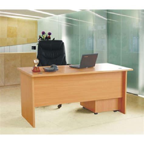 Meja Kantor Md 1675 jual ergosit office desk odb 1675 beech murah