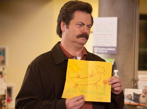 nick offerman news nick offerman from stars with hidden talents e news