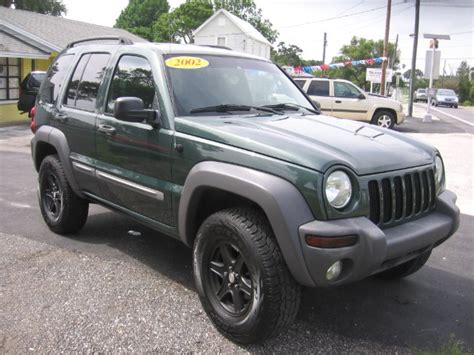 2002 Jeep Liberty Engine For Sale 2002 Jeep Liberty Sport 4dr 4wd Suv In New Port Richey