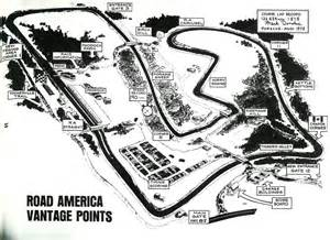Road America Map by Can Am Road America 1977 Racing Sports Cars