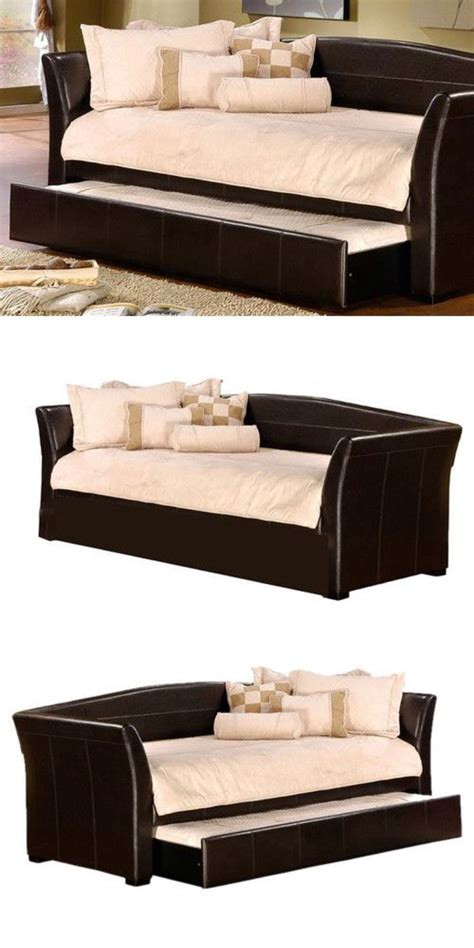 sofa with pull out trundle day bed sofa with pull out trundle bed great space