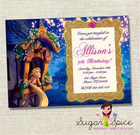 printable rapunzel invitations tangled invitation rapunzel birthday party invite