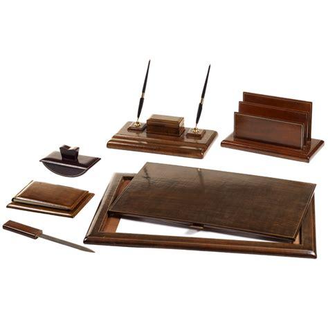 sottomano scrivania pelle set scrivania set da scrivania