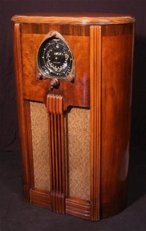Zenith Floor Radio by Zenith 9 S 263 9s263 Shutter Floor Model Radio 1938