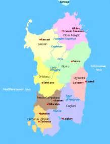 Sardinia Italy Map by Sardinia Map Of Italy Images