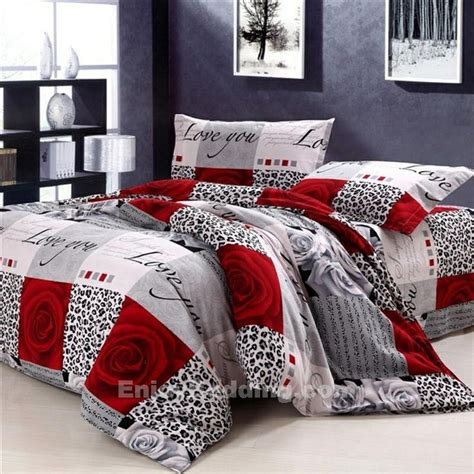 red leopard comforter set 1000 ideas about king comforter sets on pinterest