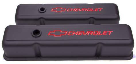 chevrolet small block valve covers proform gm 141 751 small block chevrolet black crinkle