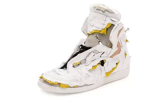 maison margiela sneakers maison margiela is now selling 1 425 destroyed sneakers