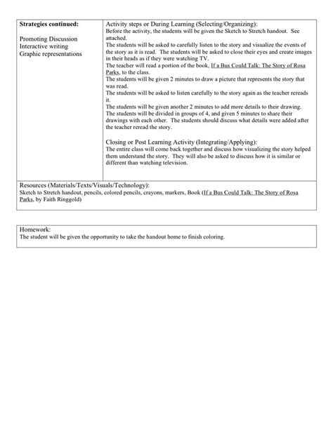 lesson plan for biography writing reading and writing methods biography unit lesson plans