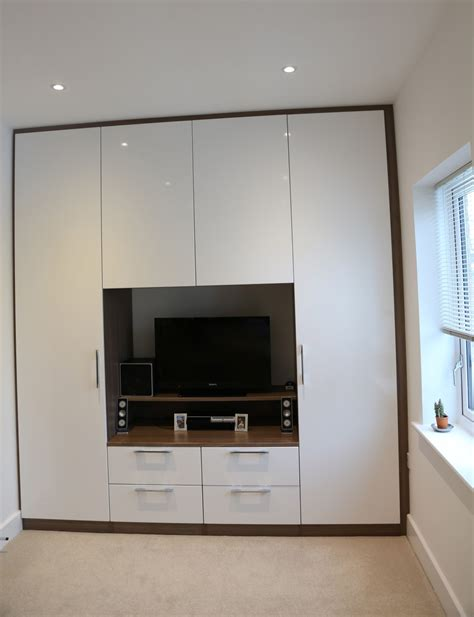 Wardrobe With Tv Space Designs tv unit in wardrobes home sweet home bird