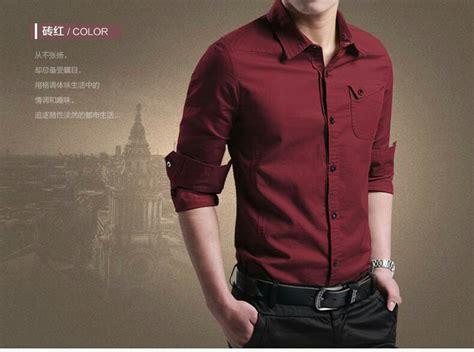 Kemeja Pria Hem Cowok Baju Lengan Panjang Bobby Putih baju kemeja pria polos lengan panjang keren model slim fit