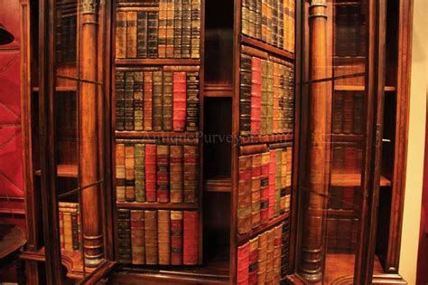traditional mahogany bookcase for the designer home office