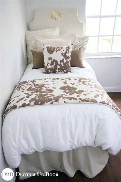 cowhide bedding tan cowhide rustic designer teen girls bedding