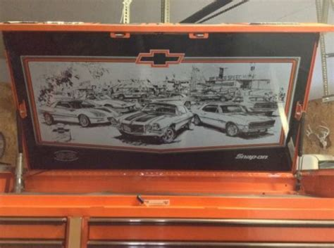 snap on camaro tool box snap on 35th anniversary chevrolet camaro ss z 28 tool box