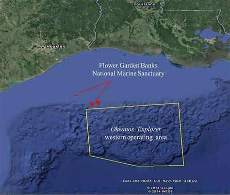 flower gardens gulf of mexico okeanos explorer expeditions noaa ship okeanos