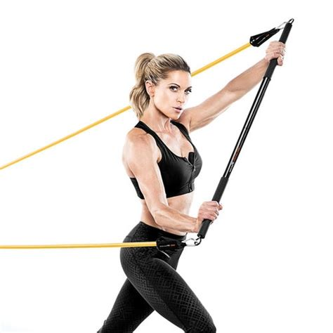 exercise bar bionic bbeb 20 durable heavy duty strength and cardio device