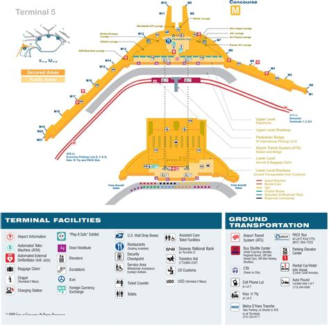 ord airport map chicago o hare international airport ord maplets