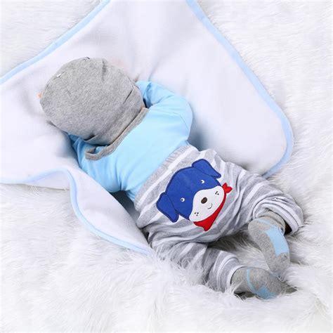 Baby Boy Handmade Clothes - 22 handmade lifelike baby boy silicone vinyl reborn