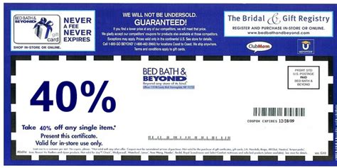 bed bath and beyone coupon bed bath and beyond coupons never expire myideasbedroom com