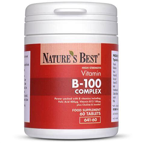 natures best uk vitamin b 100 complex uk s strongest nature s best