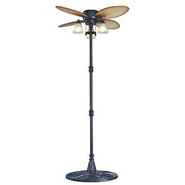 free standing ceiling fan outdoor palm leaf stand fan sam s club