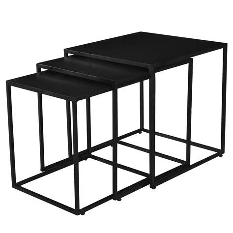 Table Basse A 189 by Table Basse Gigogne Leela Carr 233 E En M 233 Tal Lot De 3