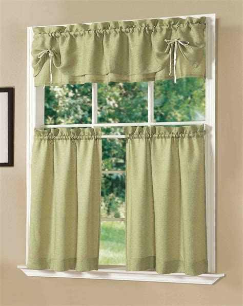 curtain setting lucia kitchen curtain set