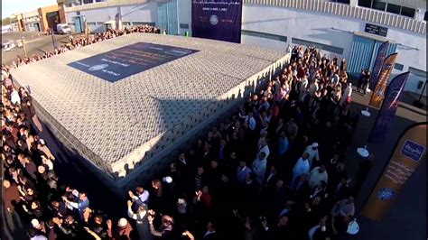 largest bed size largest mattress dolidol maroc sets world record youtube