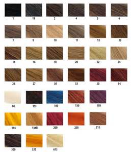hair color number chart creative hair wigs number 1 wig salon in middlesbrough