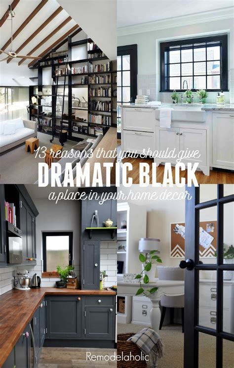 how to use bright colors to decorate the home interior remodelaholic decorating with black 13 ways to use dark