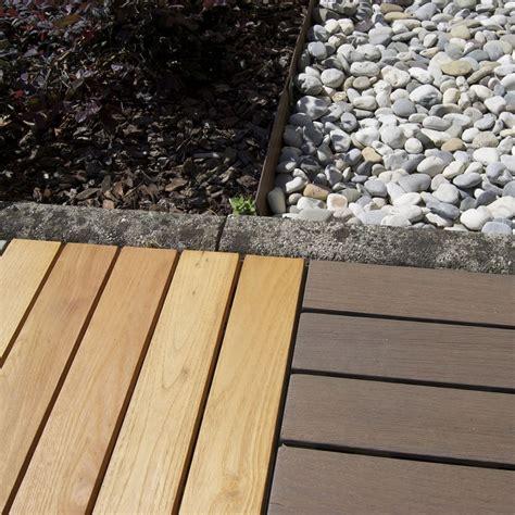 piastrelle in legno per esterni mattonelle in legno per pavimenti esterni woodplate