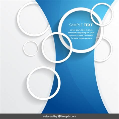 free vector circle outline background template 3845 my