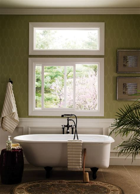 windows for bathrooms pella 174 350 series sliding window traditional bathroom