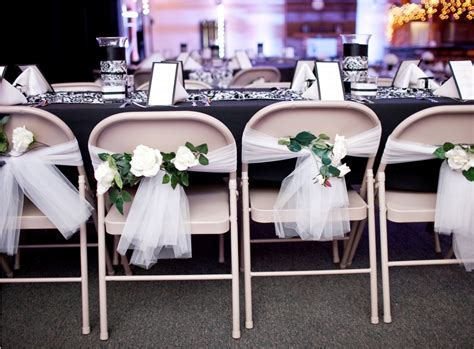 Chair Decorations For Wedding Reception