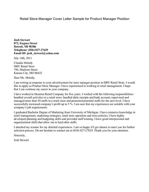 Management Cover Letter by Cover Letter Manager Cover Letter Templates