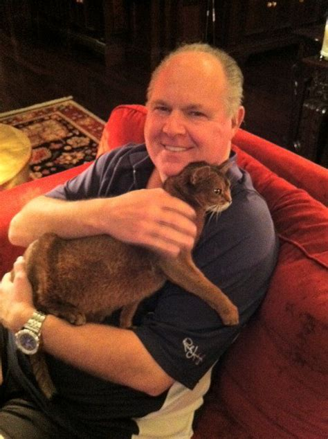 Kathryn Limbaugh Also Search For Limbaugh With His Cat Punkin Pets Mostly Cats Pinte