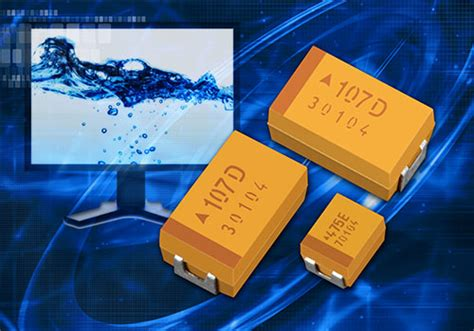 benefit of capacitors in series taj series avx