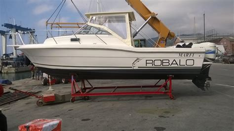 robalo boat with cabin 1995 robalo 2660 cuddy cabin power boat for sale www
