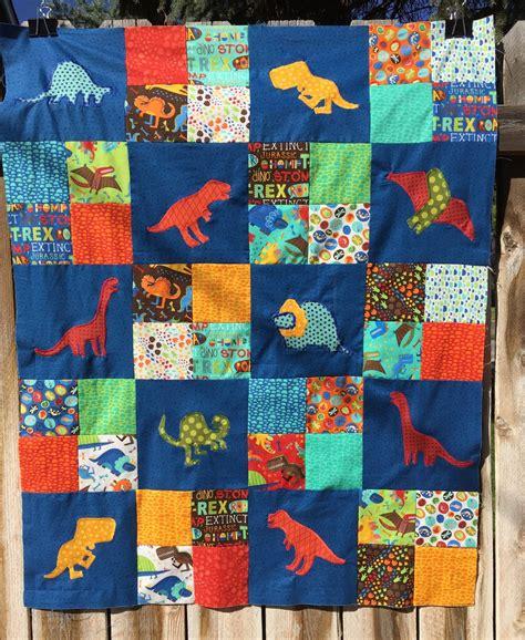 Dinosaur Quilt by Val S Quilting Studio Dinosaur Quilt Part 2